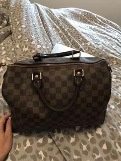 * PRICE DROP * Authentic Louis Vuitton Speedy 30 Damier Abene