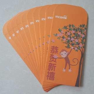 Income Monkey Zodiac red packets good quality