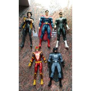 有盒! DC collectibles DC 蝙蝠俠 Crime Syndicate of America