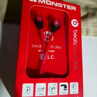 Monster Beats Earphone