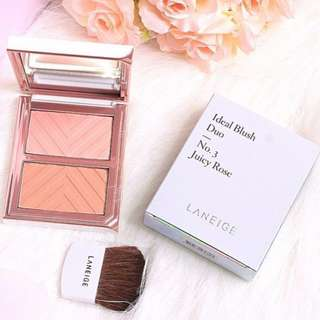 Laneige Ideal Blush Duo Juicy Rose (Brand New)