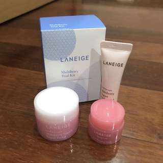 NEW Laneige Multiberry Trial Kit