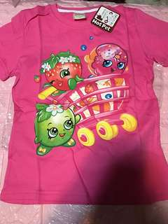 Clear Stock Sales !! Shopkins TOP Brand New Size for 5-6yrs old