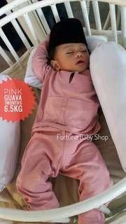 Baju Melayu Baby(PINK GUAVA)
