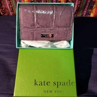 Kate Spade purple card holder