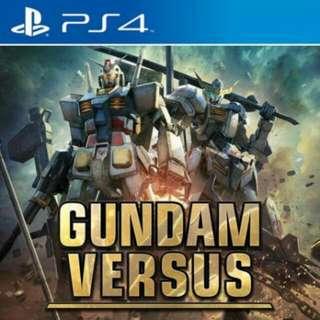 WTS Gundam Versus WITH PREORDER DLC