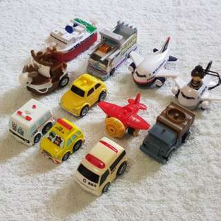 Mixed PullBack mini vehicles - LOT