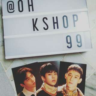 [READY STOCK ]  EXO UNIVERSE OFFICIAL 4x6 Photocard 💕