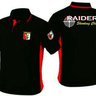 Baju Perbakin Raider ShootingClub dan baju kamuflase