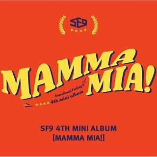 [PREORDER] SF9 - Mamma Mia