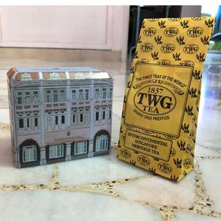  Intercontinental Singapore Heritage TWG Tea.