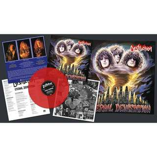 Destruction - Eternal Devastation Vinyl LP Red + Poster 750pc