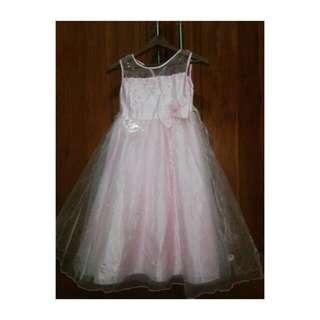 Aliza Kids Pink Dress