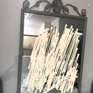 Beautiful Mirror with Metal Frame