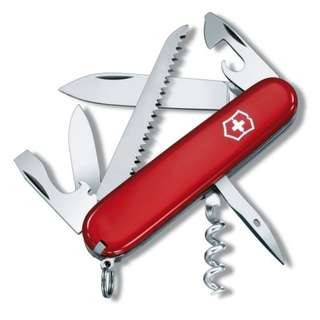Victorinox Swiss Army Knife 'Camper' in Red