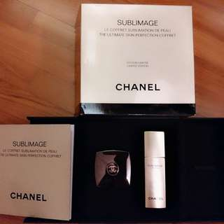 Chanel sublimage limited edition set. Lessence plus la creme