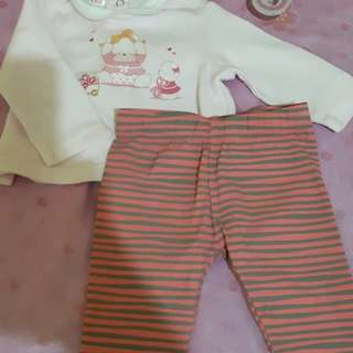 Baby clothes terno