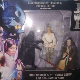 STAR WARS • LUKE SKYWALKER - DARTH VADER - OBU WAN KENOBI COLLECTION