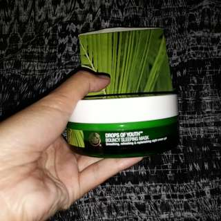 The Body Shop Sleeping Mask Drop of Youth