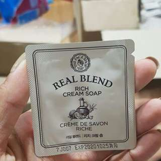 Real Blend Cream Soap