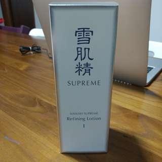 Sekkisei Supreme Refining Lotion I (400ml)