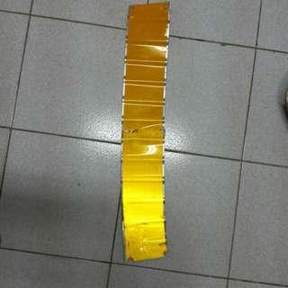 🚚 反光二手鋁板 15寬   88CM長