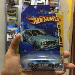 Hot Wheel Datsun Bluebird 510 Snowflake Hotwheels