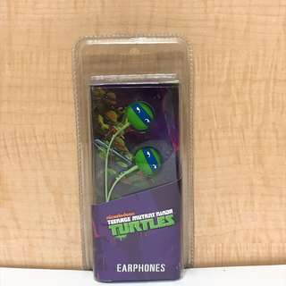 全新忍者龜入耳耳機 Turtles earphones