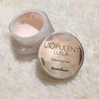 L'Opulent Brightening Cream