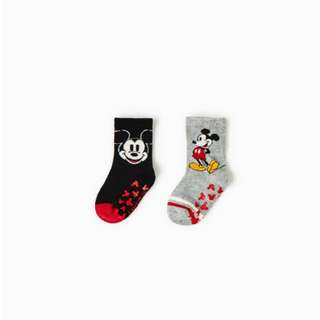 Mickey Mouse baby socks - pack of 2