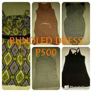BUNDLED DRESSES