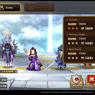 WTT SUMMONERS WAR LYDIA F3 ACC