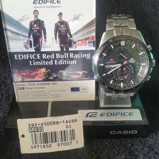 Edifice Redbull EQS-A500RB-AVDR (limited edition)