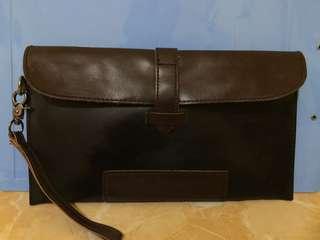 Handbag coklat hitam