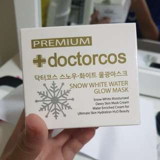 Doctorcos snow white water glow mask
