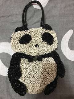 Anteprima bag (panda bag) 熊貓造型手袋