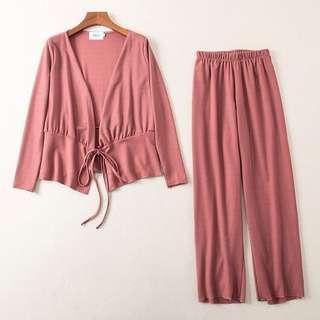Free postage 🔥 Korean design women set wear kimono blazer
