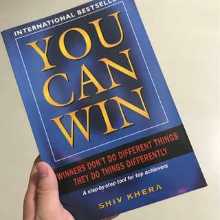 You Can Win (by Shiv Khera)