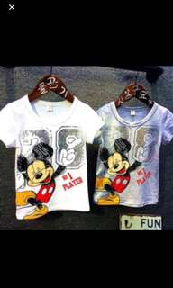 Mickey Mouse T Shirt White TOP Brand New Size Available For 2t