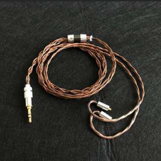 24AWG OCC 7N Copper In Type 2 Lizt MMCX Cable
