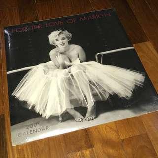 Marilyn Monroe calendar brand new