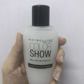 Maybeline remover