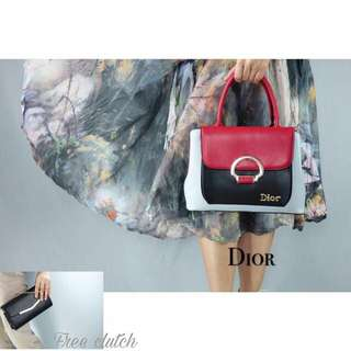 🔥Dior trendy color block handbag🔥