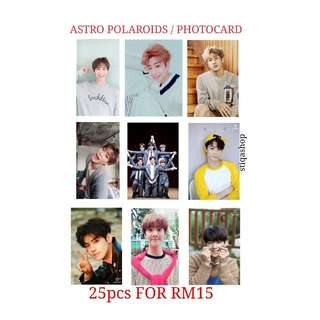 ASTRO POLARIDS / PHOTOCARD