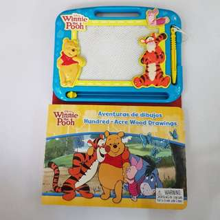 Disney Winnie The Pooh Hundred-Acre Wood Drawings, Kid's Book
