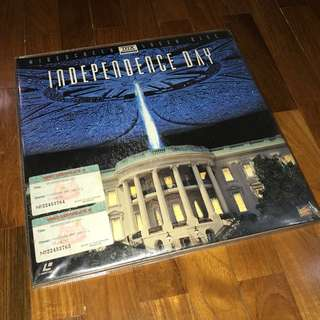 Independence Day laser disc