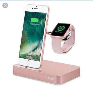 (BNIB) Belkin Valet charging dock for apple iwatch&phone