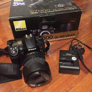 Nikon D7000 + 18-105mm PERFECT CONDITION