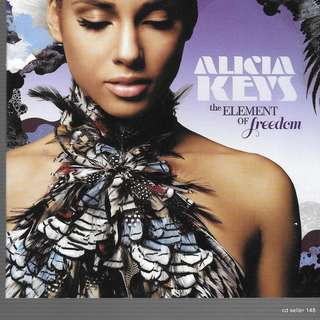 MY CD- ALICIA KEYS -THE ELEMENT OF FREEDOM - FREE DELIVERY BY SINGPOST.