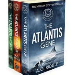 eBook - The Atlantis Trilogy by A. G. Riddle (3 Books)